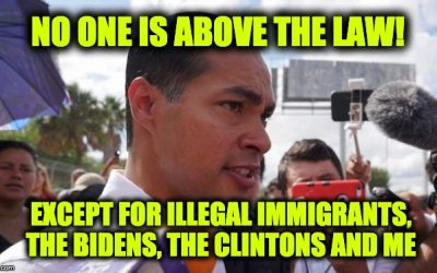 Julian Castro's Illegal Alien Stunt Fails Miserably