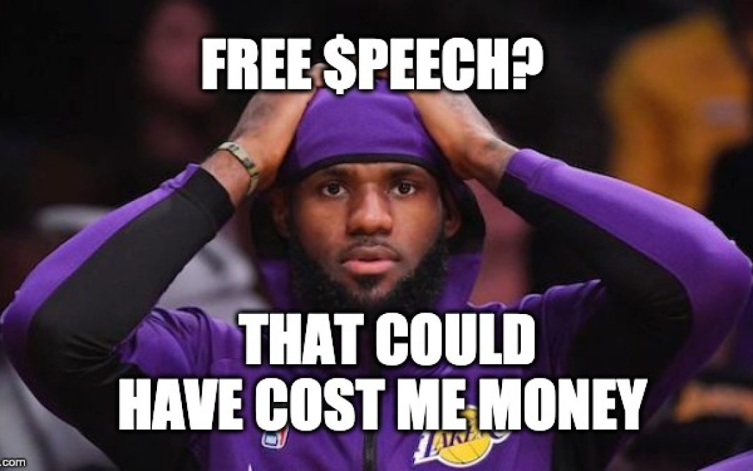 LeBron James Speaks On China Controversy, Sounds Like An Idiot