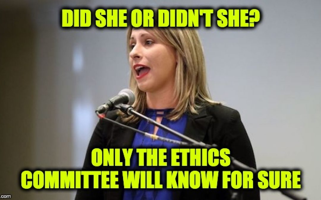 House Ethics Committee Opens Investigation Of Katie Hill Affair With Staffer