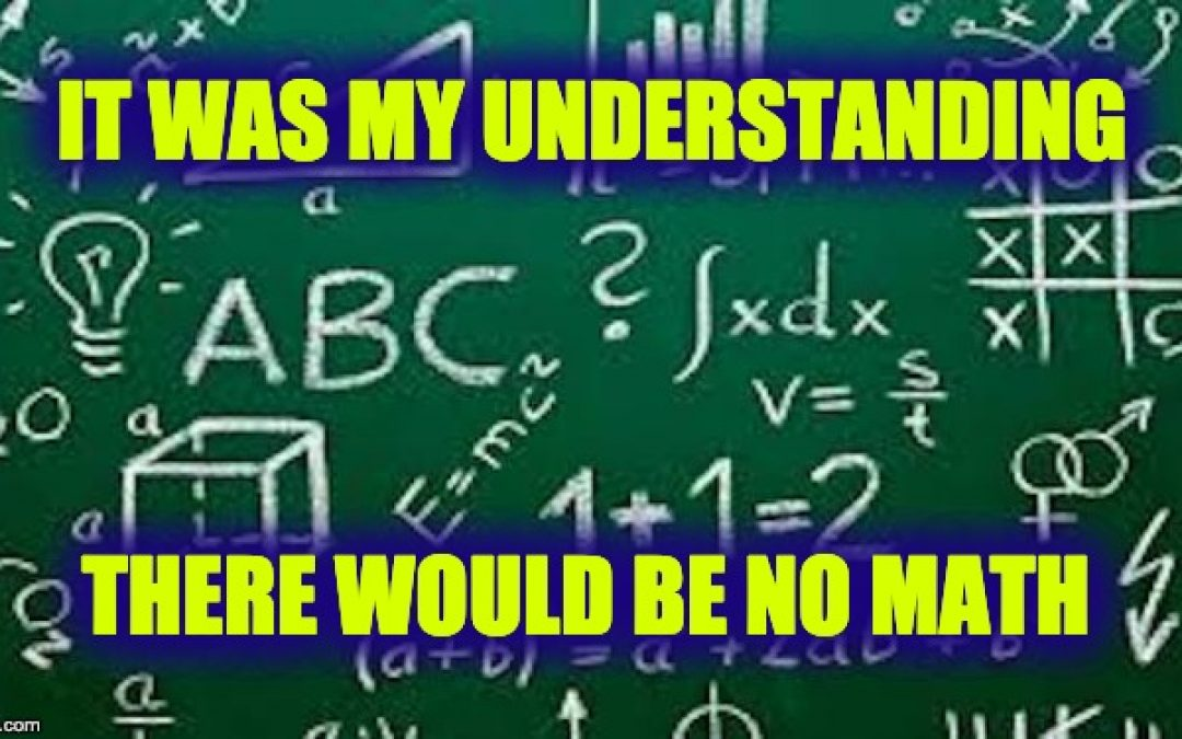 Oh My! Now Math Is Racist