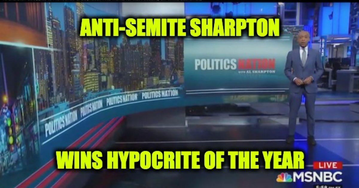Jew-Hater-Sharpton