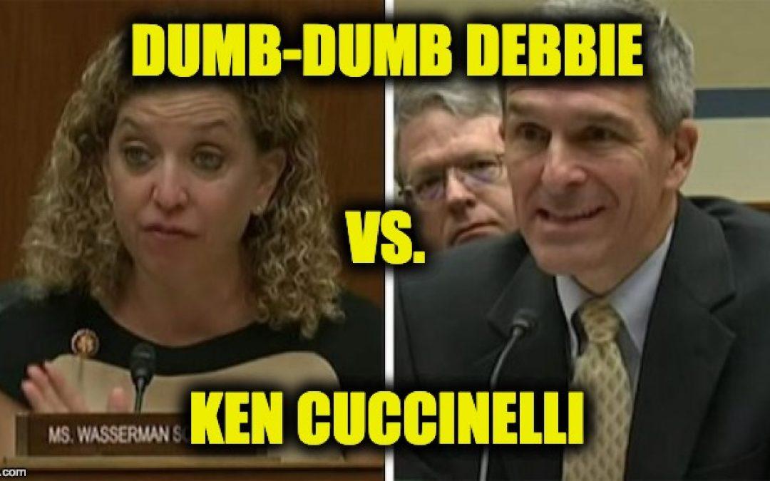 Rep. Wasserman-Schultz Accuses Customs Director Cuccinelli Of White Supremacy