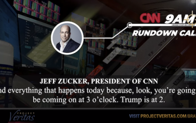 Project Veritas Captures CNN's Anti-Trump Bias On Video