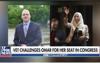 Cop Running Against Ilhan Omar Calls Her An  'Absentee Landlord,' And Voters Unhappy