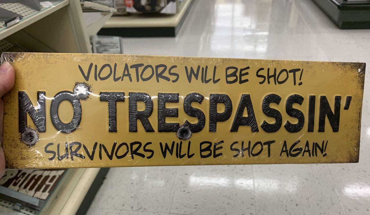 hobby lobby gun signs