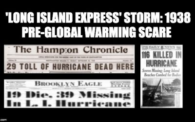 CLUELESS! NY Gov. Cuomo Says There Were No Hurricanes Before Global Warming