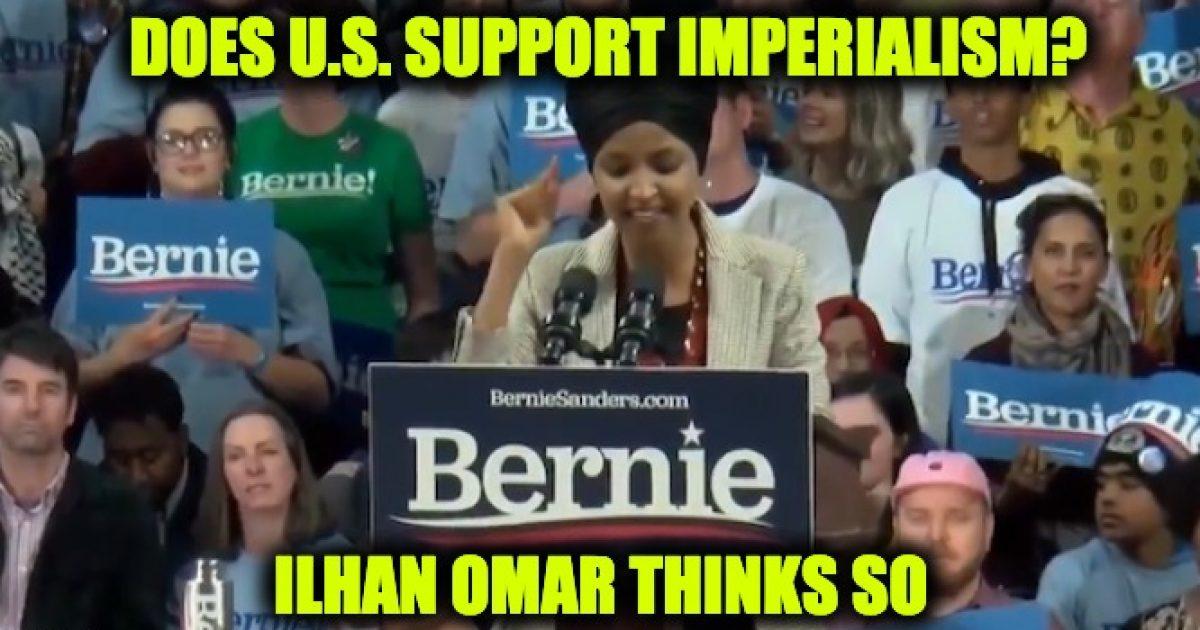 Omar Western Imperialism