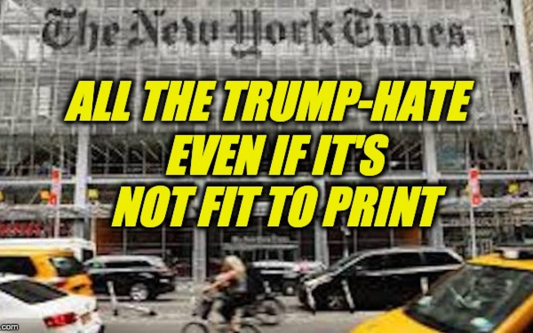 NY Times' Pushes Lies About Dems And Israel To Sate Its Anti-Trump Agenda