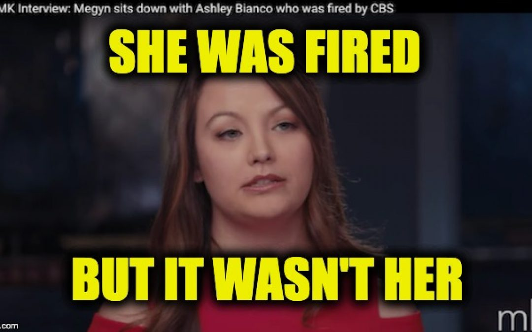 Fired By CBS But She Wasn't The Robach/Epstein Video Leaker (Video)