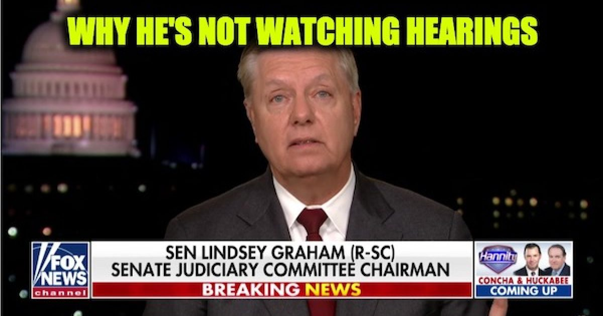 Lindsey Graham impeachment hearings