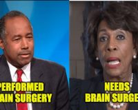 Wrath Of Ben Carson Unleashed On Maxine Waters
