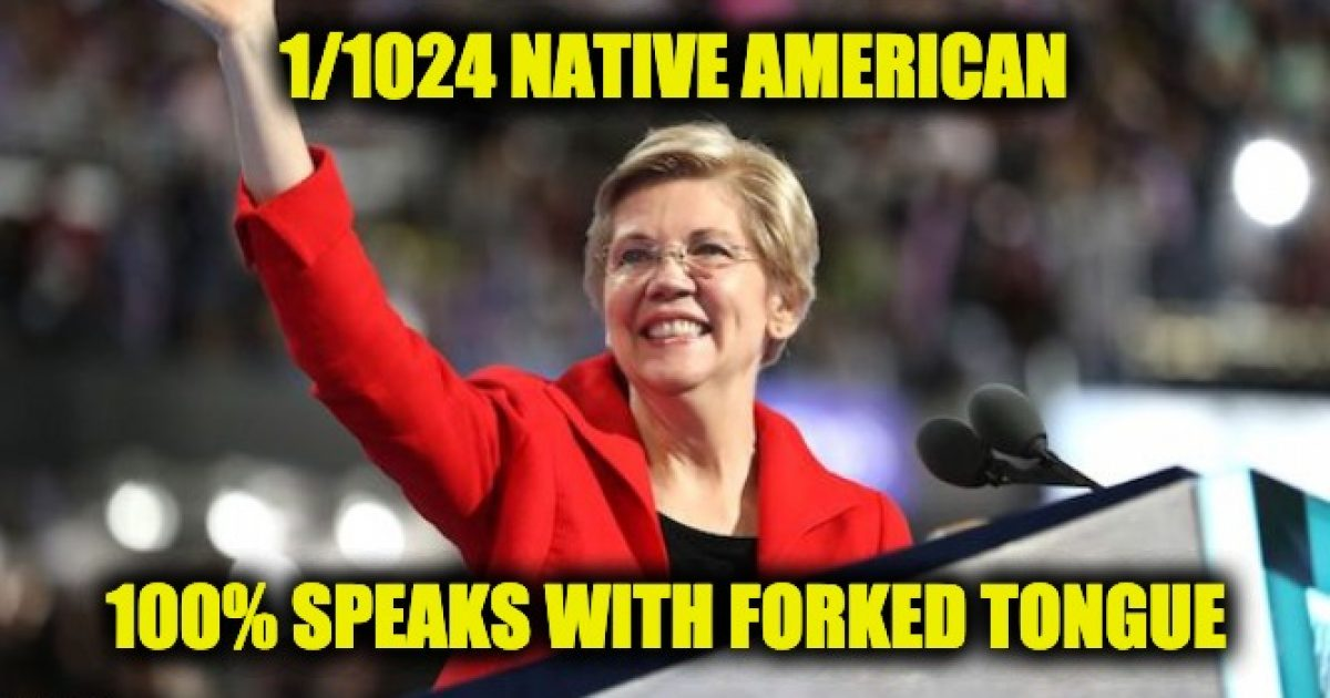 Elizabeth Warren forked tongue