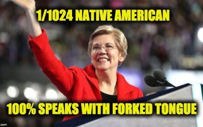 Elizabeth Warren Speaks With Private School Forked Tongue