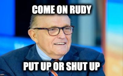 Come On Rudy: Enough Teasing, If You Have Proof Show It