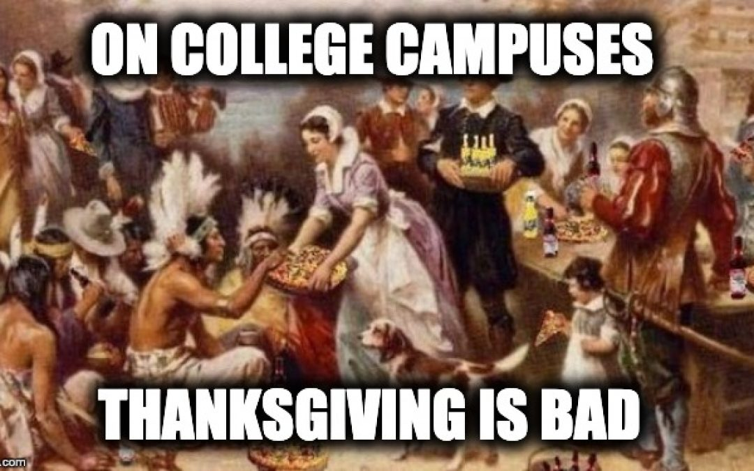 American Colleges Throw Hate At Thanksgiving