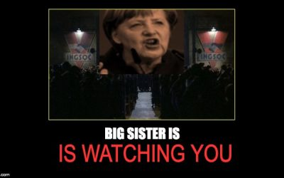 Chancellor Angela Merkel Says We Must Take Away Free Speech or We Can't Be Free
