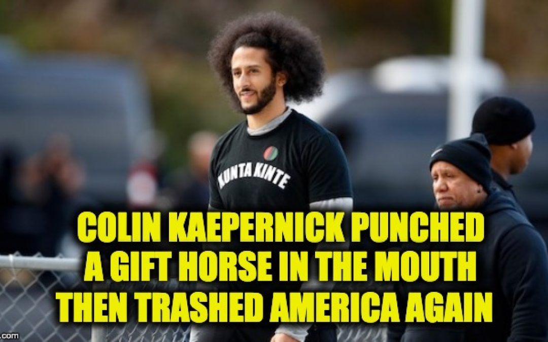 Colin Kaepernick Trashes America Again: Rips 'Unthanksgiving Day '