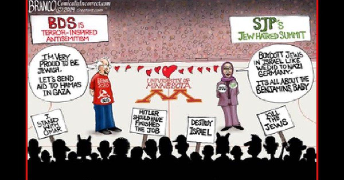 SJP promotes Antisemitism