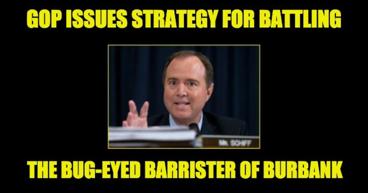 GOP strategy memo
