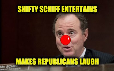 laugh at shifty Schiff