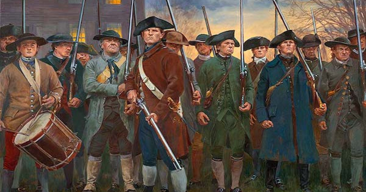 Revolutionary War Minute Men