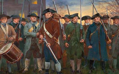 Revolutionary War Minute Men Silhouettes Cause Freakout