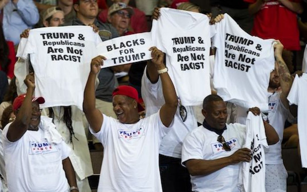 Democrats Getting Nervous About Trump's Growing African-American Appeal