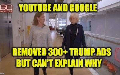 Google And YouTube Take Down Trump Campaign Ads (But Can't Explain Why)