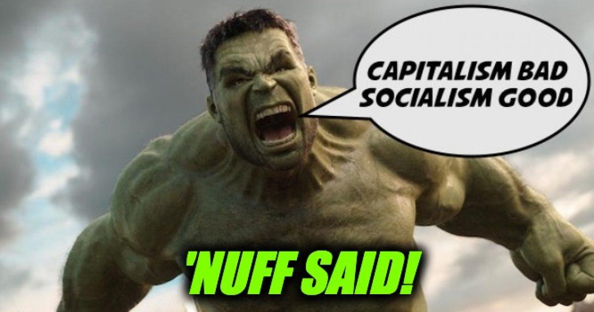 Mark Ruffalo Socialism