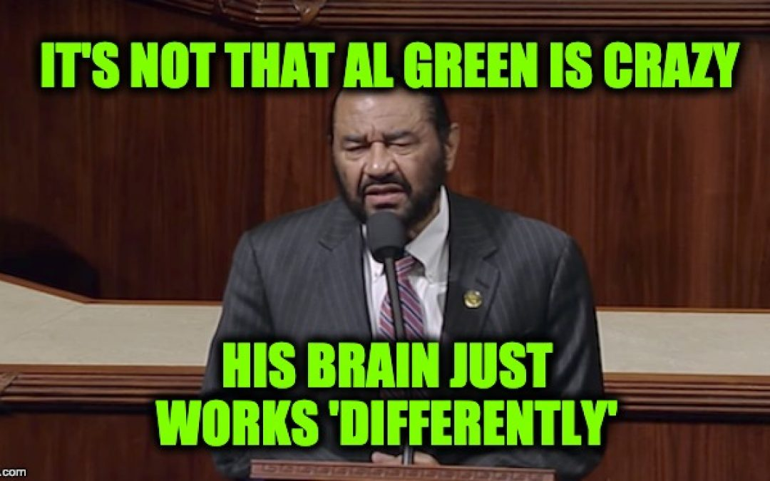 Rep. Al Green: Another Reason We Need To Impeach Trump Is… Slavery?