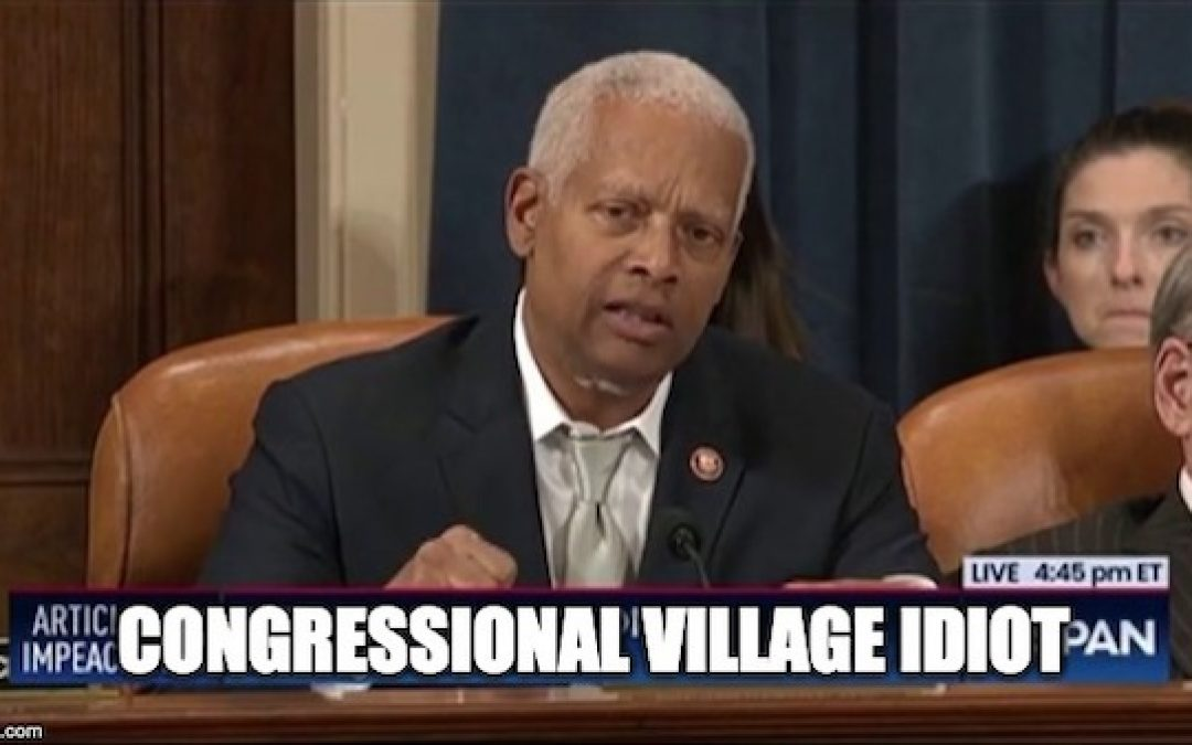 Hank Johnson Says Impeach Trump For Being Too Tall (Video)