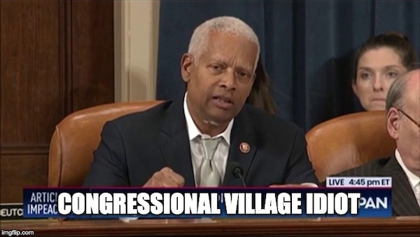 Hank Johnson Says Impeach Trump