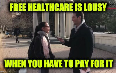 free healthcare is not free