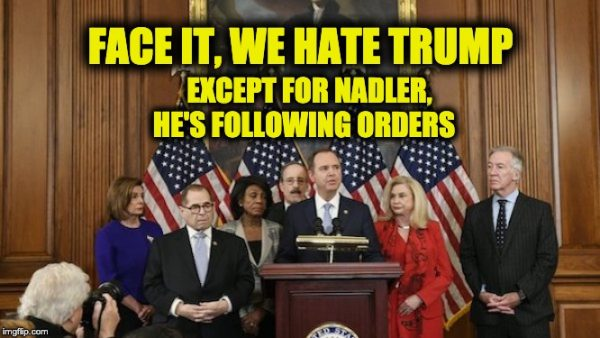 Dems loathe Donald Trump