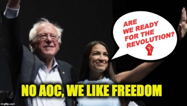 AOC Goes Bizarro