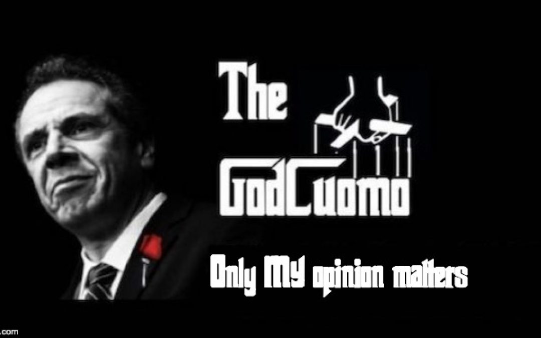 Godfather Cuomo Blocked Federal Judges From Officiating NY Weddings Because Orange Man Bad
