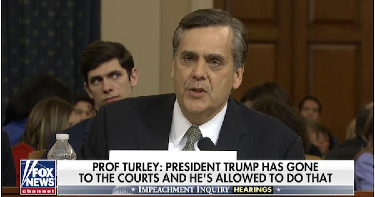 Jonathan Turley impeachment