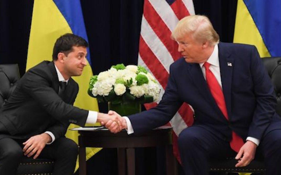 Ukraine President Tells Time Mag: No Trump Quid Pro Quo Demand