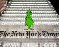 NY Times: The Grinch Who Tried To Steal Trump's Historic Antisemitism Executive Order