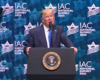 Leftists Freak As Trump Explains Accomplishments To Israeli American Council