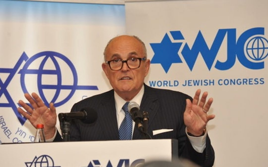 Giuliani Claims He's 'More Of A Jew' Than George Soros: Liberals Freak (But He's Right)