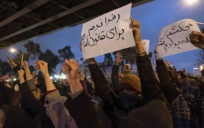 Iranian Protest Demands Ayatollah Quit, Calls Soleimani Murderer (Videos)