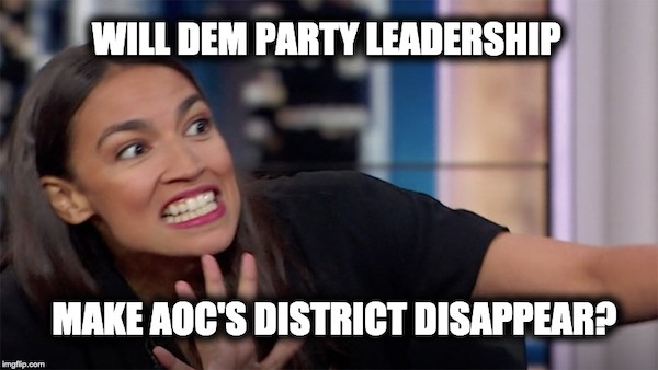 AOC lose Congressional district