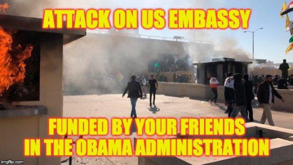 Attack embassy Baghdad