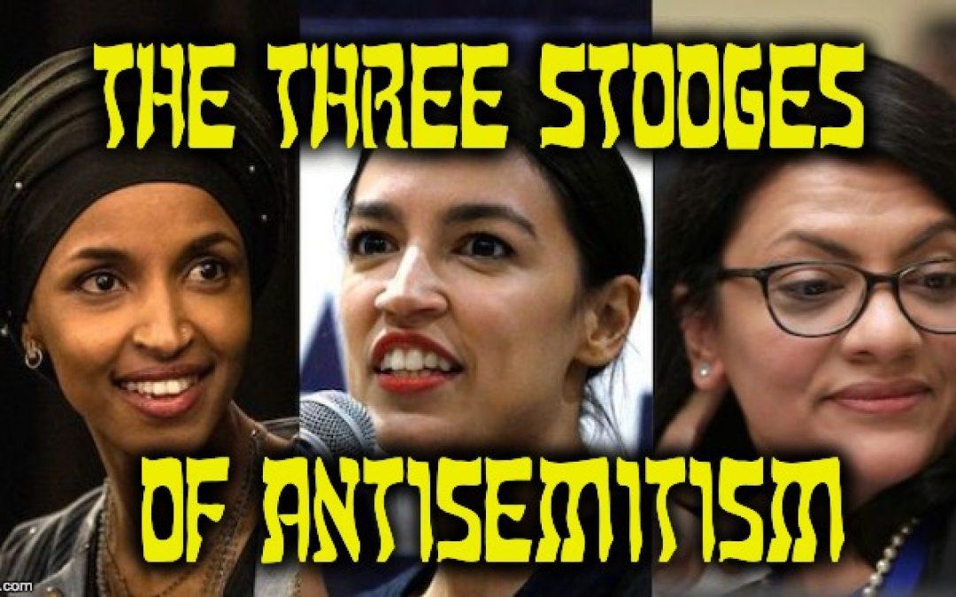 Trump Blasts The Three Stooges Of Jew-Hatred