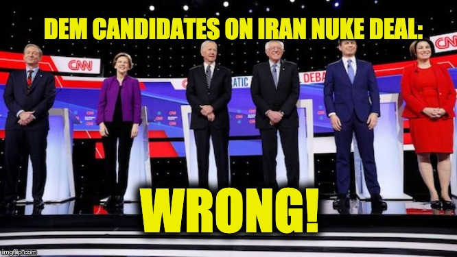 Dem Candidates wrong about JCPOA
