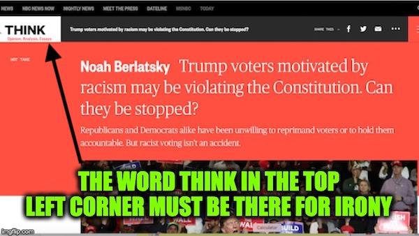 NBC voting Trump Unconstitutional