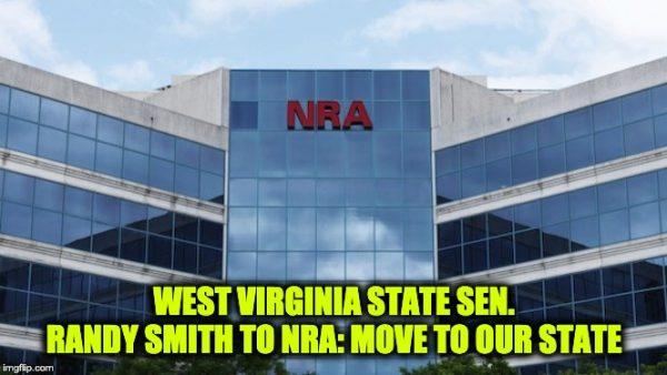 West Virginia invites NRA
