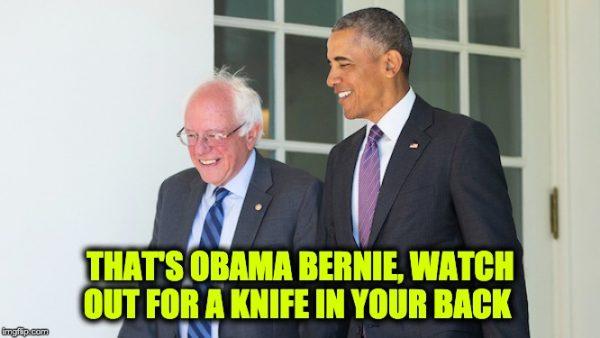Obama stop Bernie