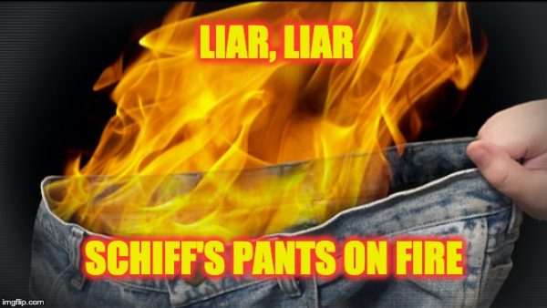Schiff lies again